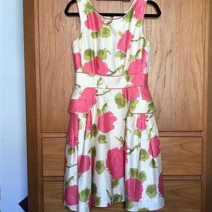 kate spade floral sheath dress